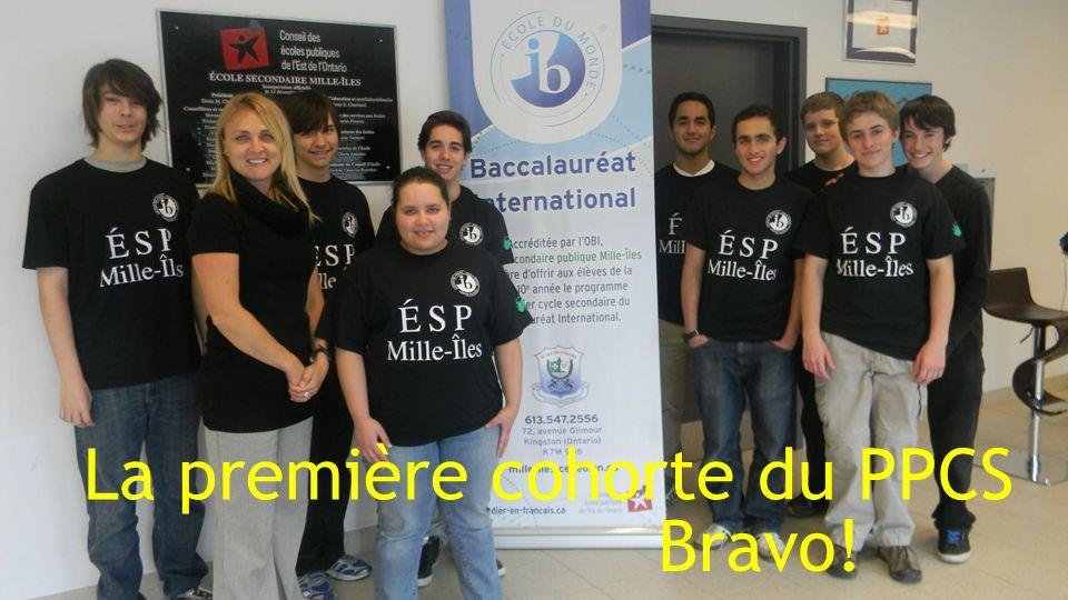 La première cohorte du PPCS Bravo!