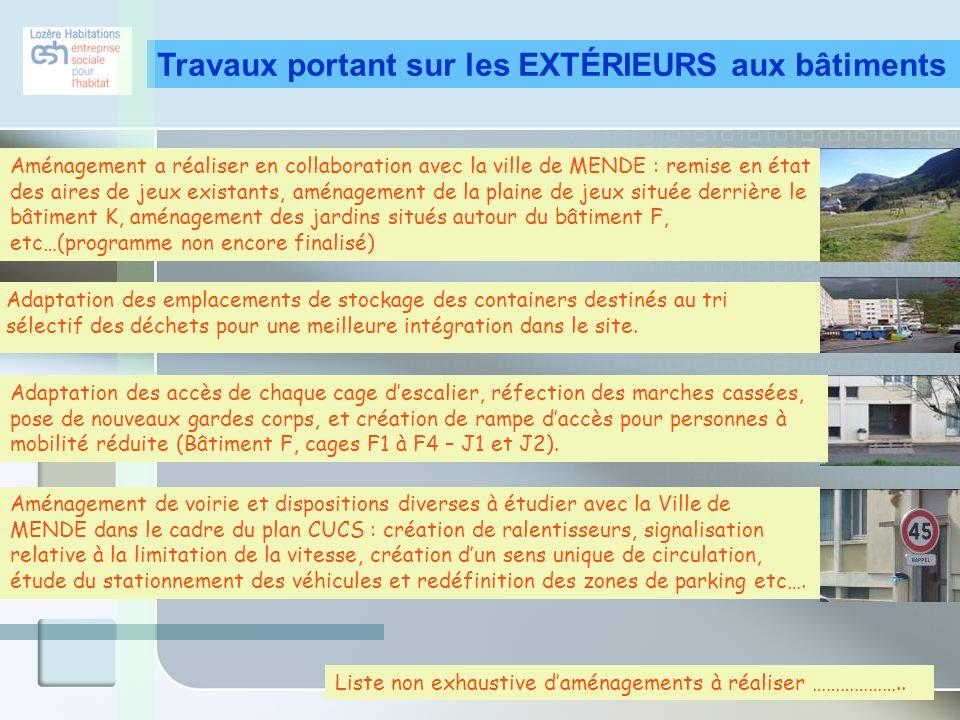 Toiture terrasse : R= 2,50 m²K/W R= 4,00 m²K/W Murs Extérieurs : R= 2,30 m²K/W R= 4,30 m²K/W Plancher Bas RDC/Caves : R= 3,00 m²K/W R= 3,50 m²K/W Exigence zone H2 R utile projet atteint m²K/W Ventilation Très Basse Pression C= 0,45 W/m3/unit C= 0,30 W/m3/unit Porte Palière R= 2,50 m²K/W R= 3,85 m²K/W Menuiseries Extérieures : Uw= 2,30 W/m²K Uw= 1,50W/m²K Chaudière Bois : Rdt Glob = 0,90 Rdt Glob = 0,92 Calorifuge Réseaux Calorifuge = 4 cm Calorifuge = 8 cm