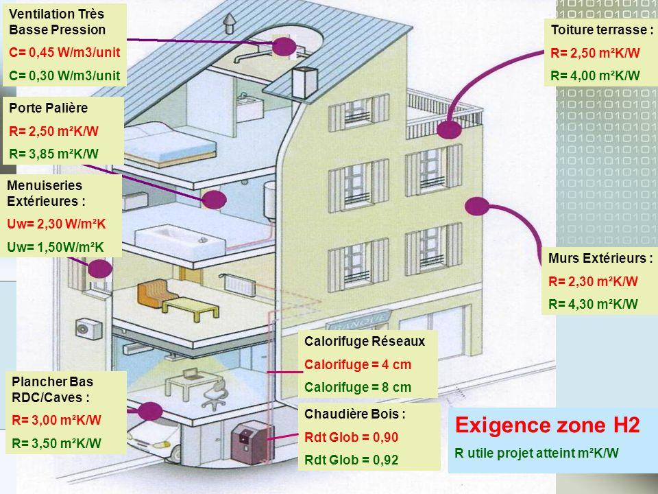 Il est prévu la pose dun Kit de 16 M² de panneaux photovoltaïques monocristallins par cage descalier, soit 2KwHCrête/ Cage descalier.