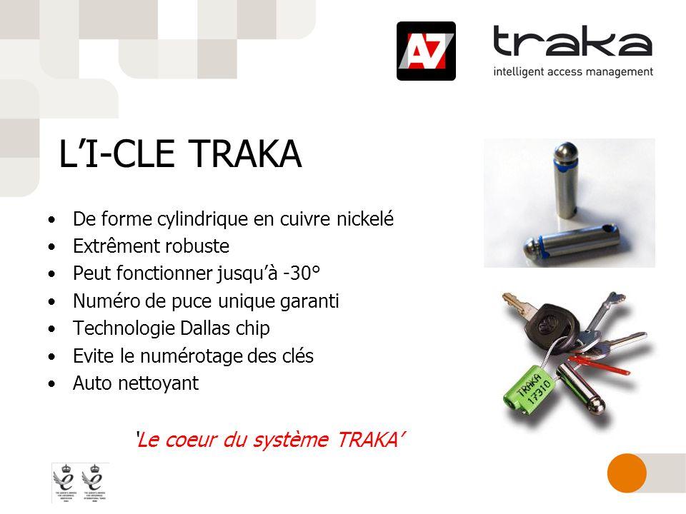LI-CLE TRAKA De forme cylindrique en cuivre nickelé Extrêment robuste Peut fonctionner jusquà -30° Numéro de puce unique garanti Technologie Dallas ch