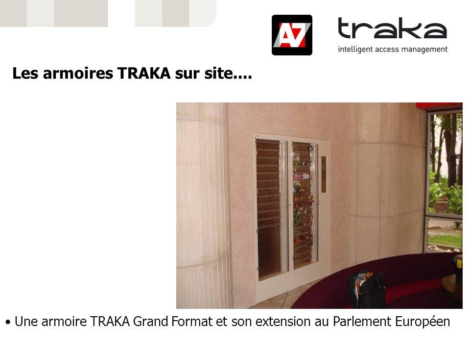 Une armoire TRAKA Grand Format et son extension au Parlement Européen