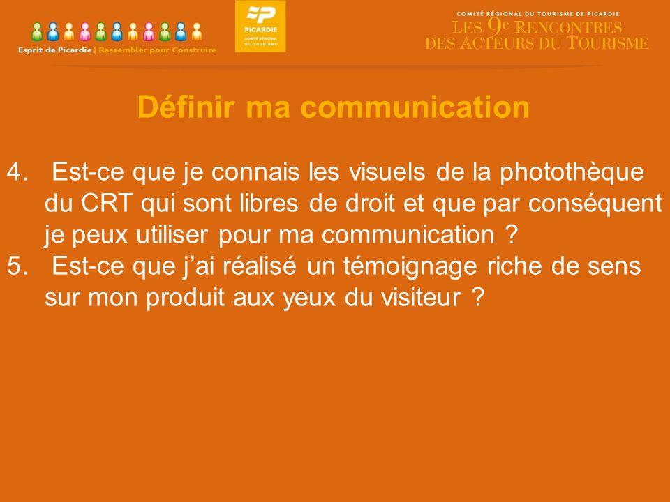 Définir ma communication 4.