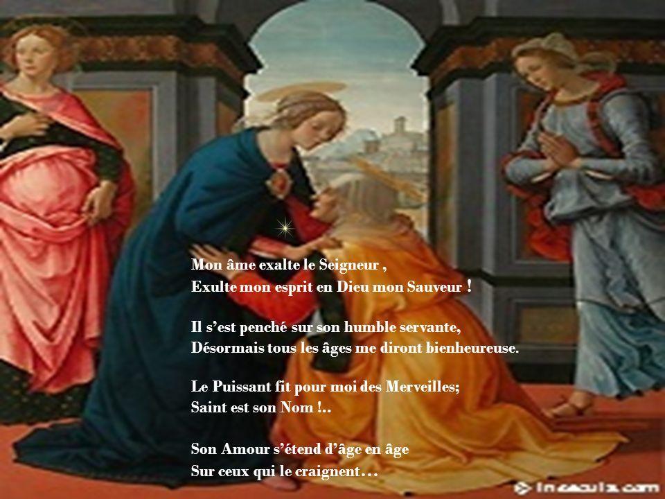Et je chante Magnificat... Avec Marie, je suis femme de Visitation, pour porter la Vie au monde