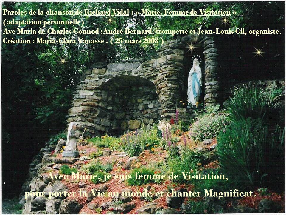 Magnifique est Marie ! Magnifique est Jésus ! Merci de me visiter aujourdhui.