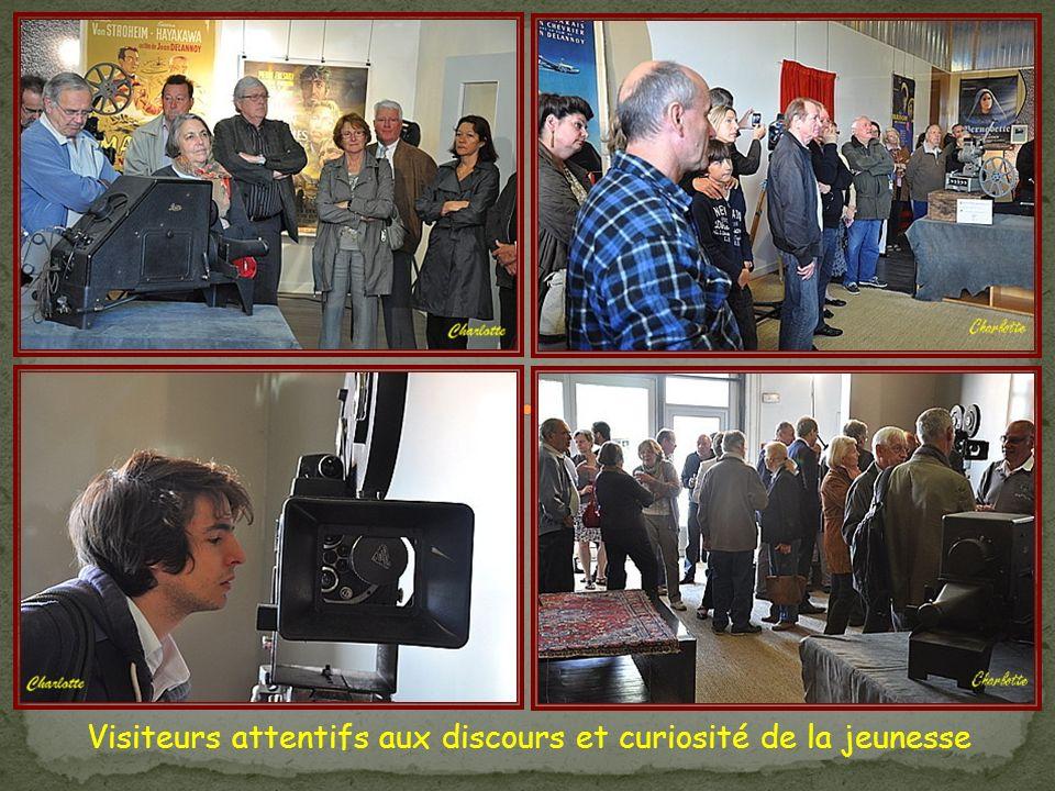 Discours à loccasion du vernissage le 19 juin 2011 Moteur … on tourne … le Musée du Cinéma est lancé … puis …