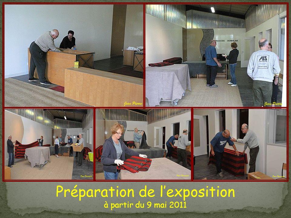 Préparation de lexposition à partir du 9 mai 2011