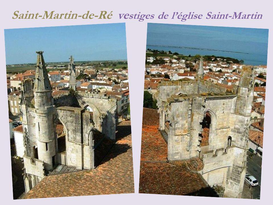 Saint-Martin-de-Ré la ville et le port