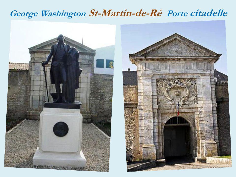 Saint-Martin-de-Ré entrée de la ville
