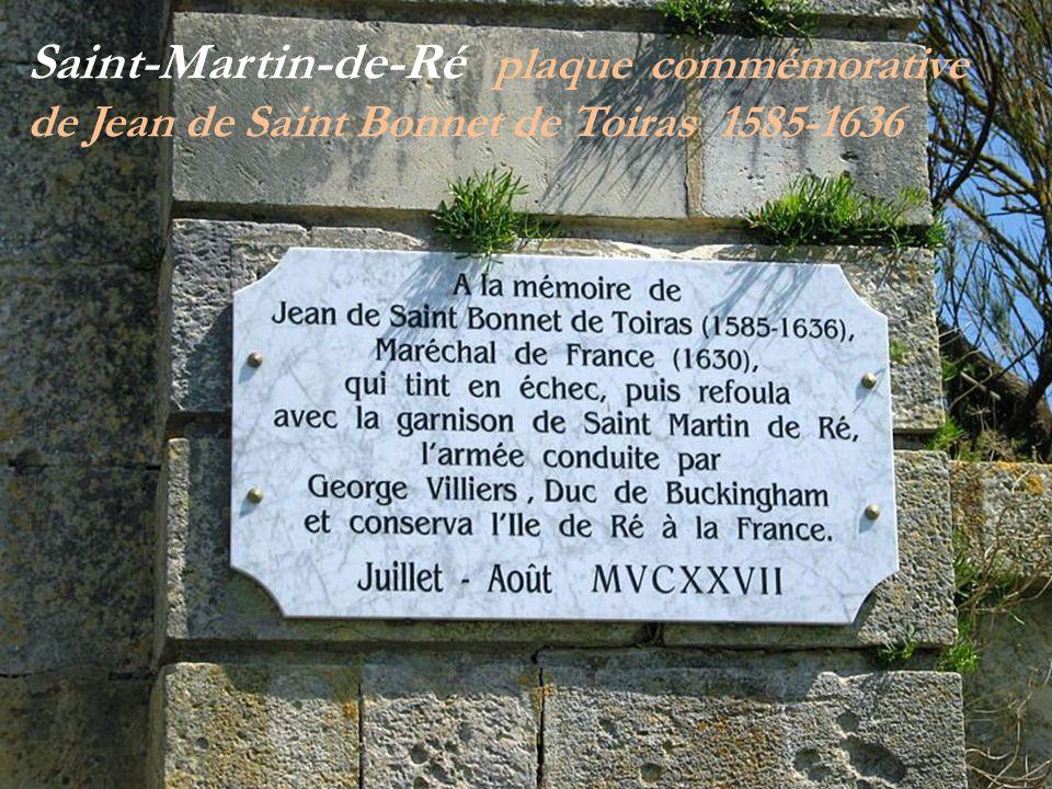 George Washington St-Martin-de-Ré Porte citadelle
