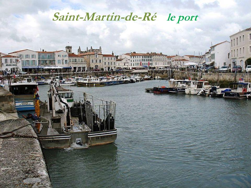 Saint-Martin-de-Ré La sortie