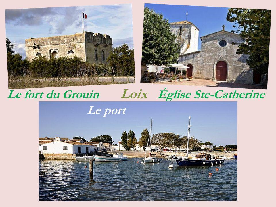 La Couarde-sur-Mer Le port Souvenirs Le centre