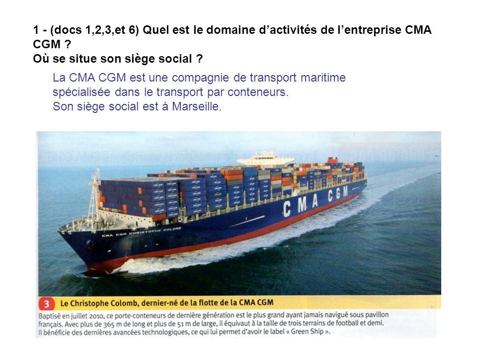 *Les conteneurs sont manutentionnés grâce à des portiques qui les rangent sur les navires ou les déchargent, et des chariots cavaliers qui transportent les conteneurs de laire de stockage jusquaux quais.