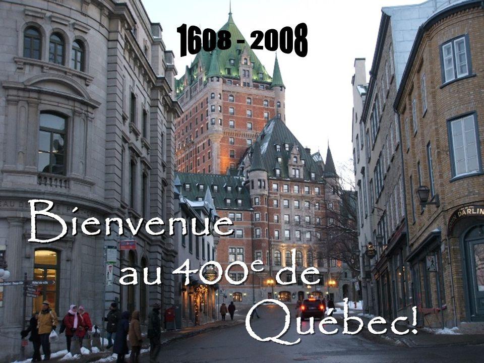 Bienvenue au 400 e de Québec!