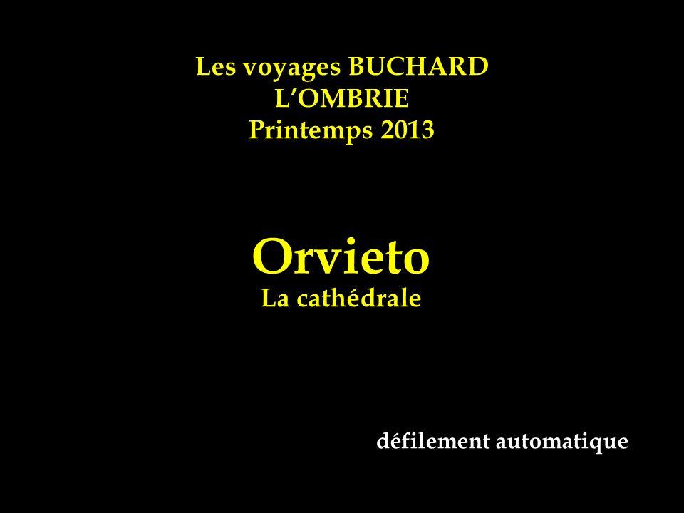 Les voyages BUCHARD LOMBRIE Printemps 2013 Orvieto La cathédrale défilement automatique