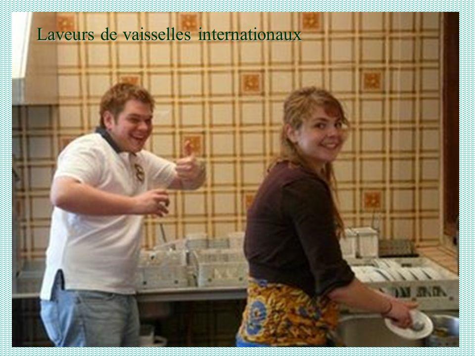 Laveurs de vaisselles internationaux