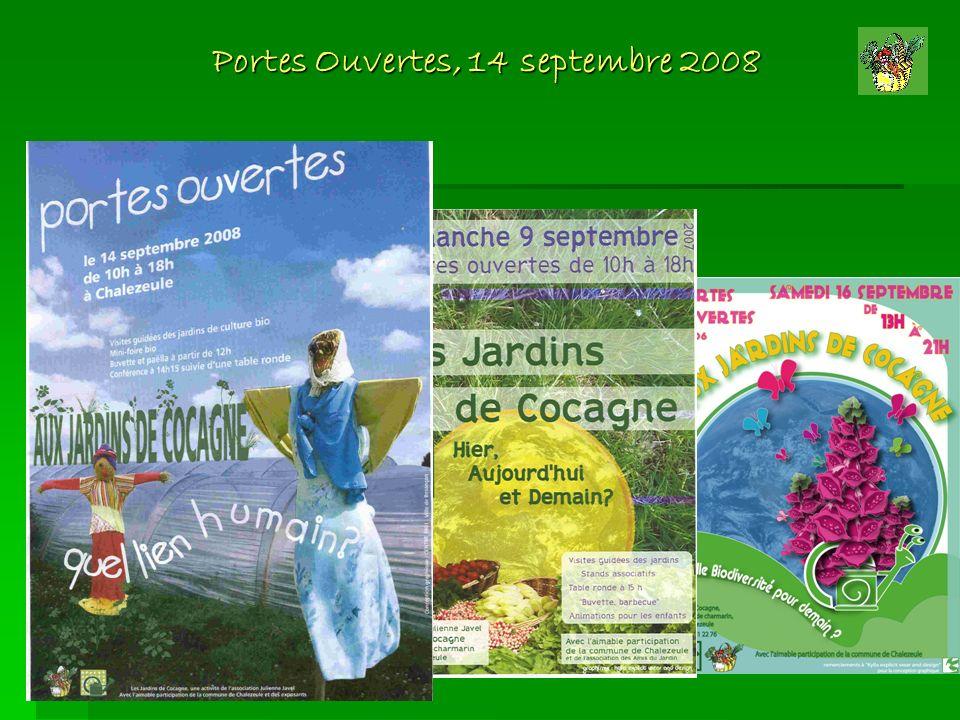 Portes Ouvertes, 14 septembre 2008