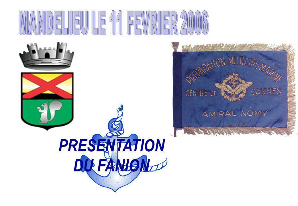 PRESENTATION DU FANION
