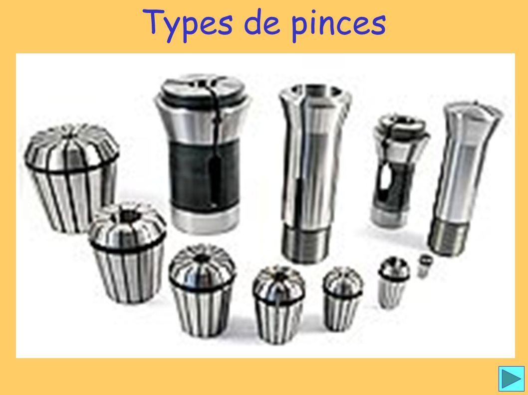Types de pince 1 Types de pinces