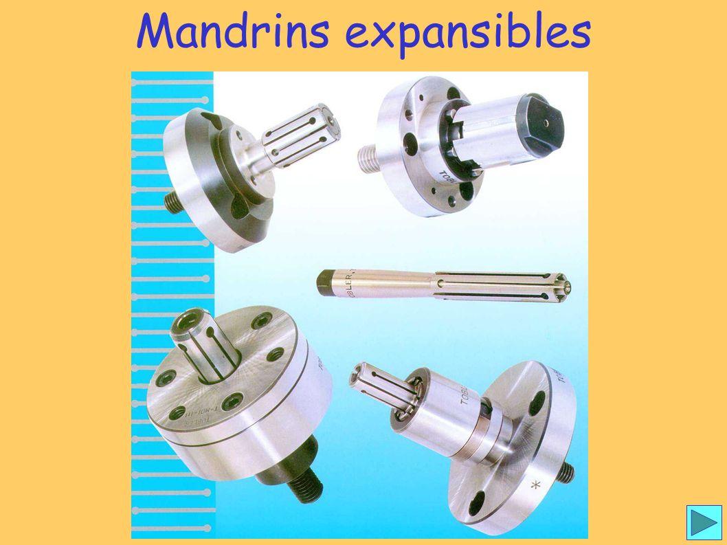 Mandrins expansibles 1 Mandrins expansibles