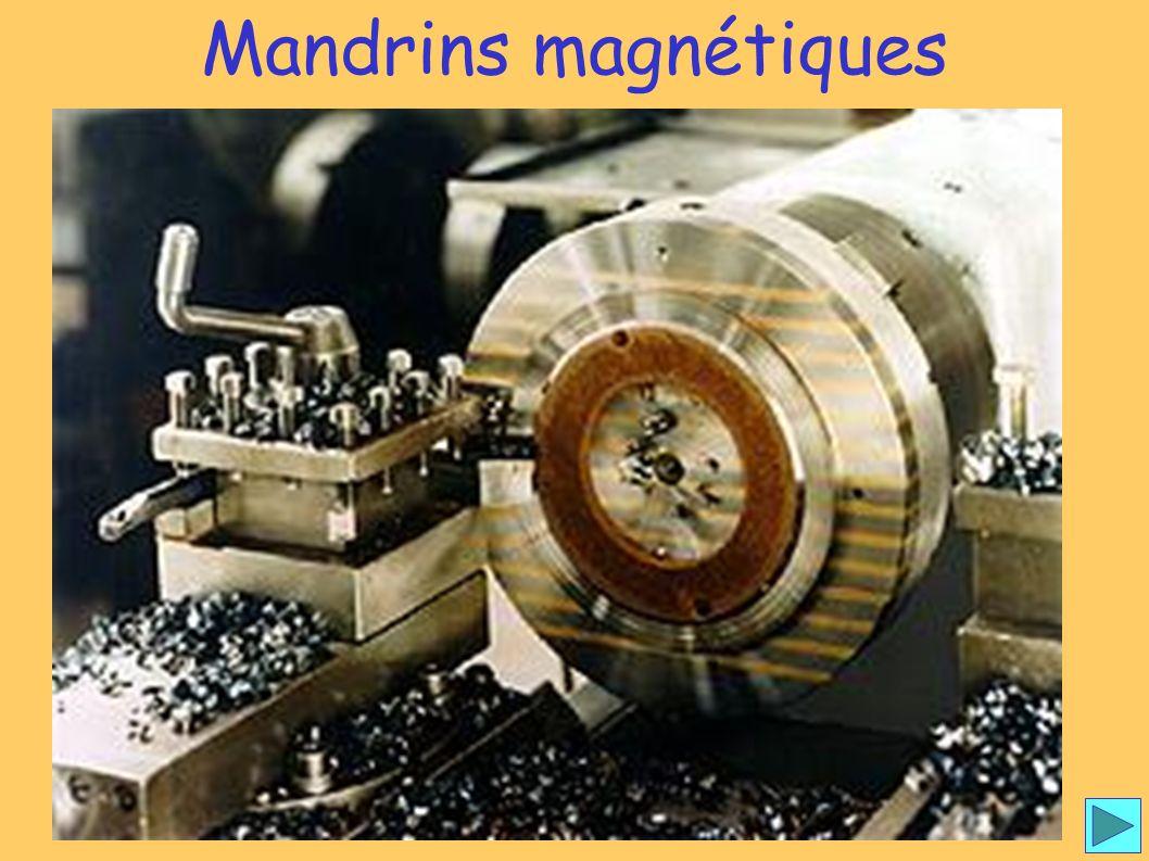 Mandrins magnétiques 1 Mandrins magnétiques