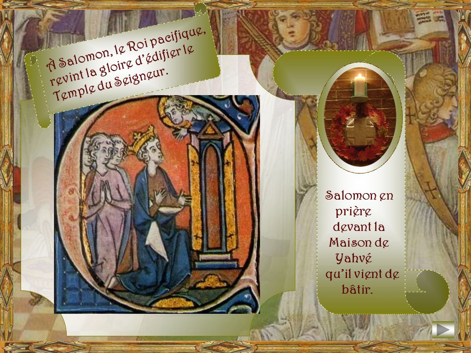 Il prit la pierre qui lui avait servi de chevet, il la dressa comme une stèle et répandit de lhuile sur son sommet. À ce lieu, il donna le nom de Béth