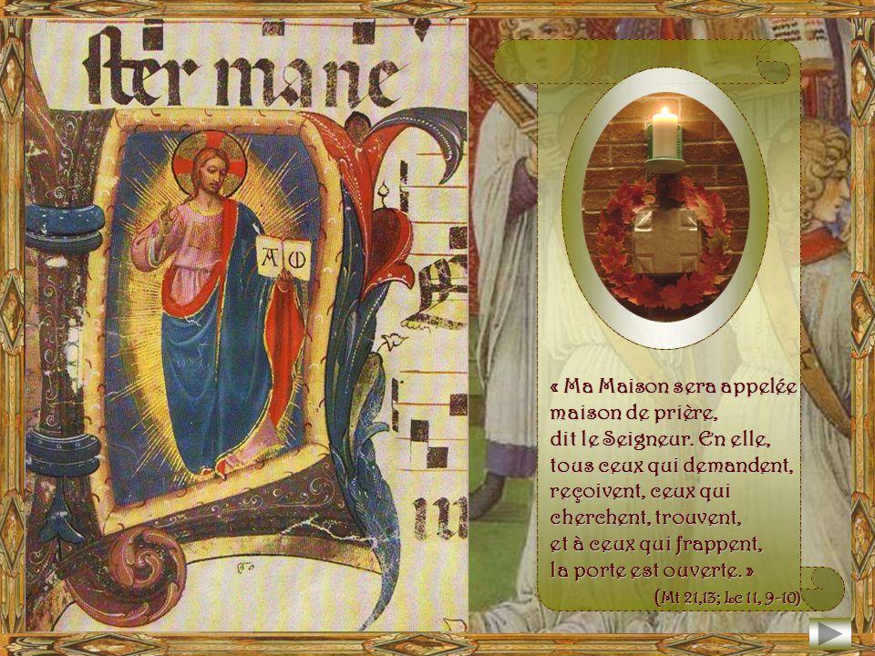 Domine Deus, in simplicitate cordis mei laetus obtuli universa… Seigneur Jésus, dans la simplicité de mon cœur de mon cœur avec joie je tai tout livré.