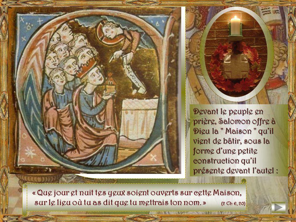 Adorabo ad templum sanctum tuum, et confitebor Nomini tuo, Domine. Alléluia ! Jadorerai en ton temple saint, et je louerai ton Nom, Seigneur. (Ps 5,8)