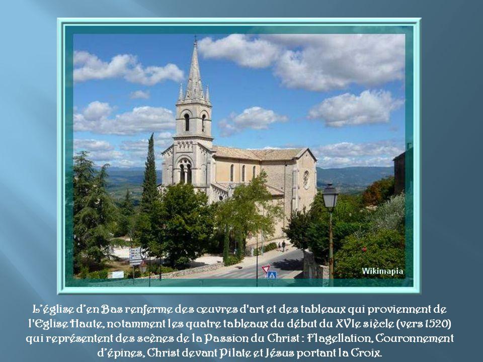 Le projet de construction de « l Eglise neuve » vit le jour en 1856 mais il fallut 14 ans pour le faire aboutir.