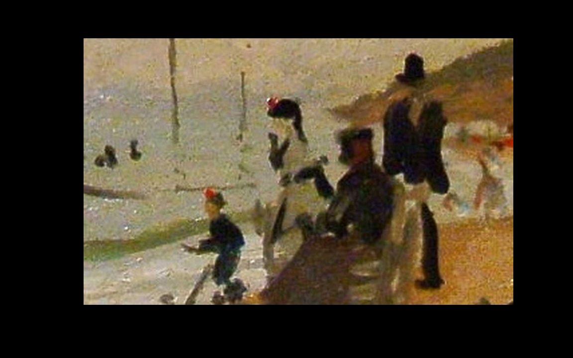 Vallée de Sasso, effet de soleil. 1884 Musée Marmottan