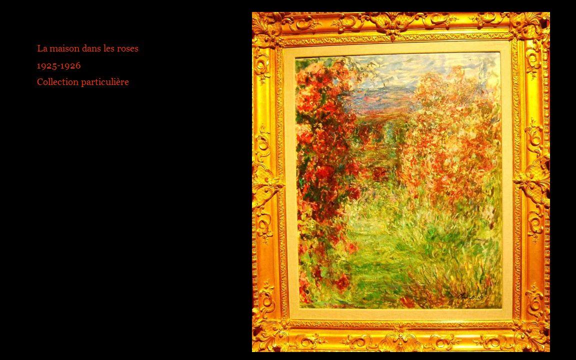 La maison dans les roses 1925-1926 Collection particulière