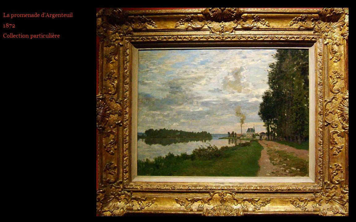 La promenade dArgenteuil 1872 Collection particulière