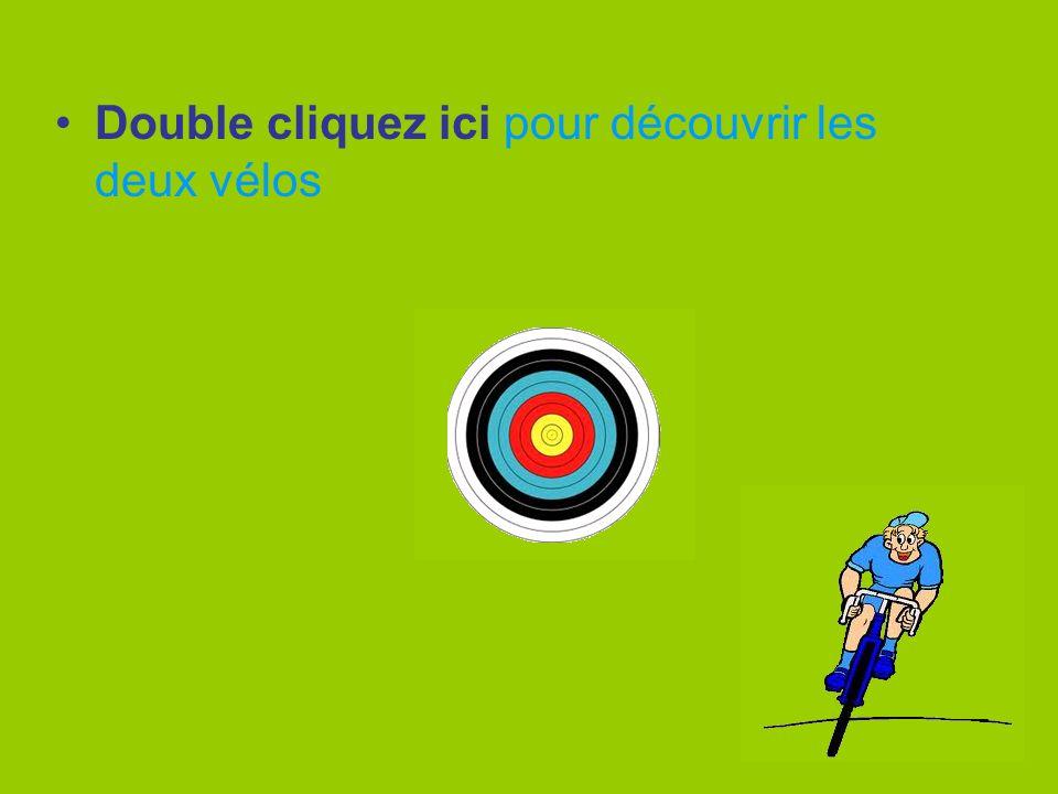 Double cliquez ici pour découvrir les deux vélos
