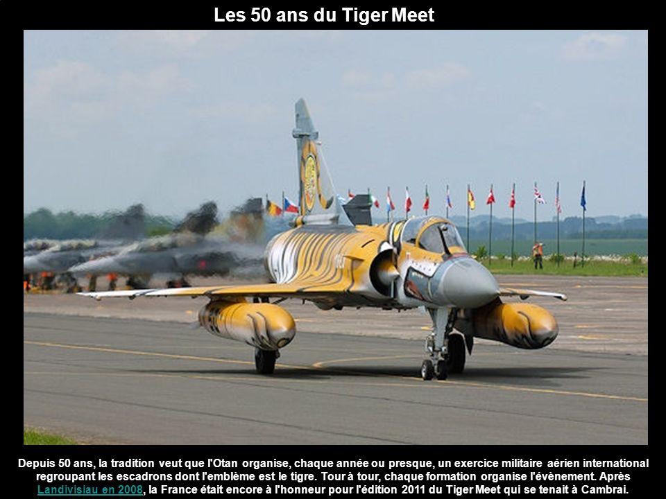 Les 50 ans du Tiger Meet Depuis 50 ans, la tradition veut que l'Otan organise, chaque année ou presque, un exercice militaire aérien international reg