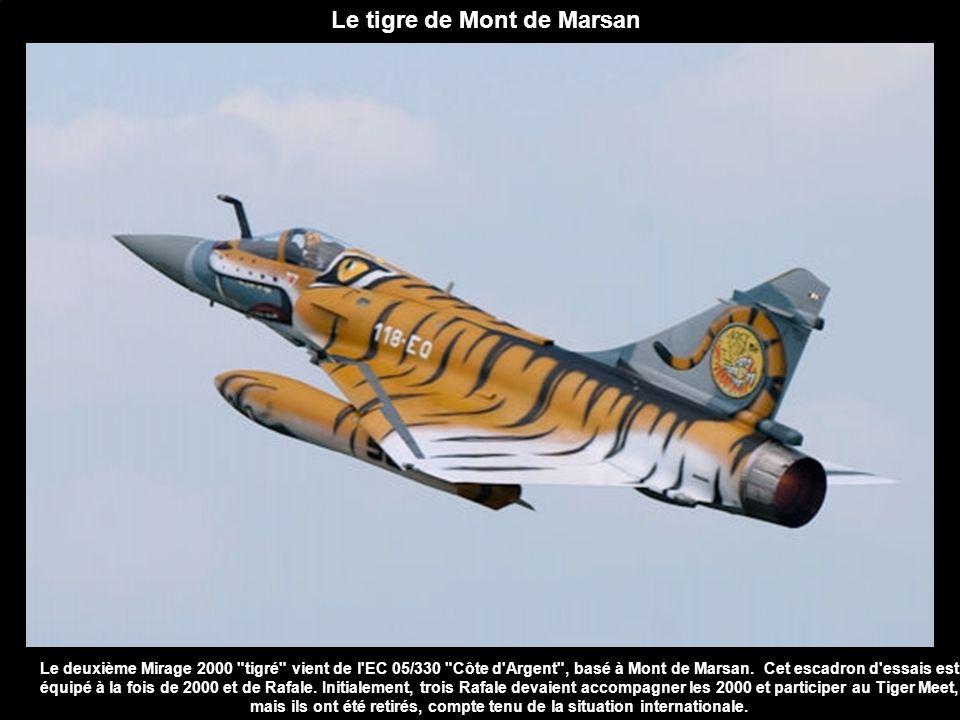 Le tigre de Mont de Marsan Le deuxième Mirage 2000