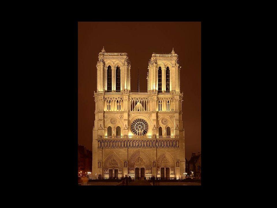 Façade sud et sa rosace Portail Saint-Etienne