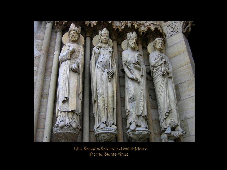 Saint-Paul, David, la Sibylle et Isaïe Portail Sainte-Anne
