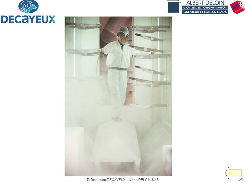 Présentation DECAYEUX - Albert DELOIN SAS25