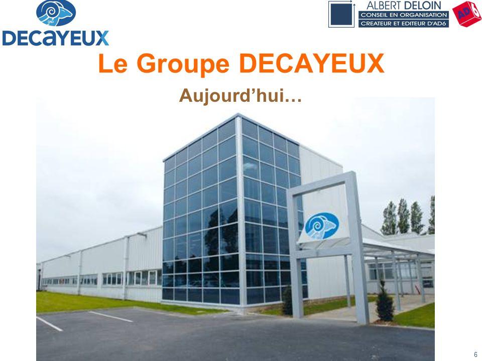 Présentation DECAYEUX - Albert DELOIN SAS47 Consommation en cours du lot Kanban n° 3 Etiq.