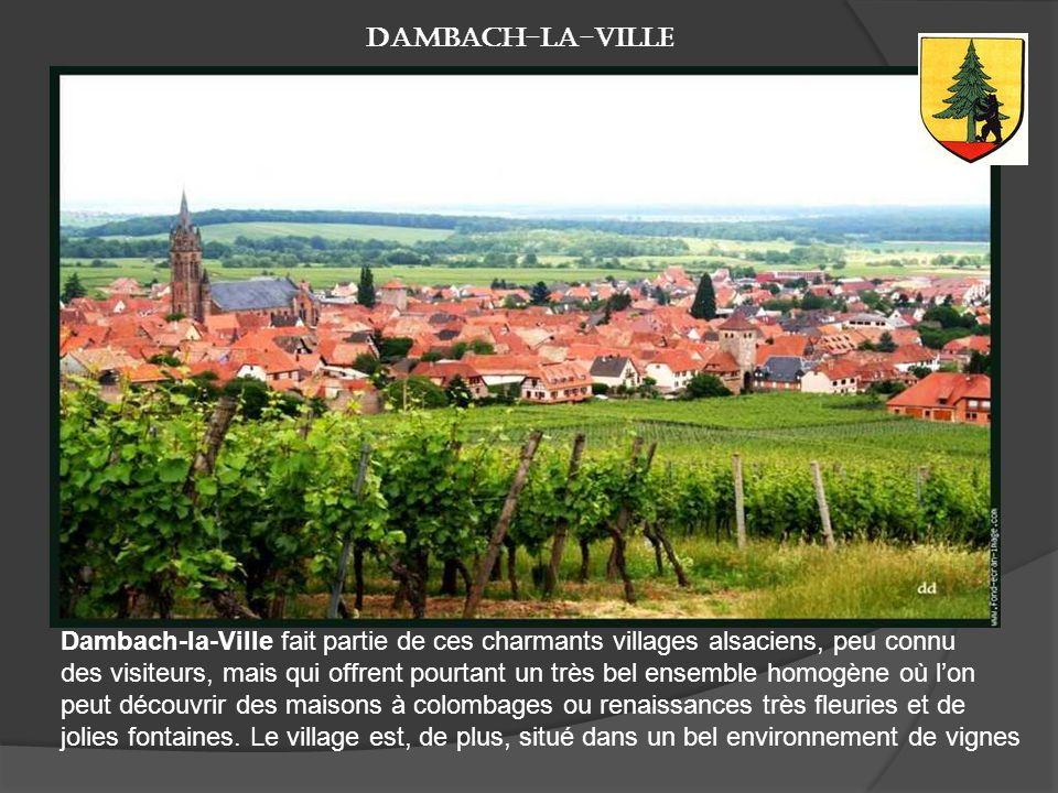 Andlau Petite ville du Bas-Rhin non loin de Sélestat, Andlau est entourée de forêts et de vignes. Le village offre en outre de beaux témoignages monum