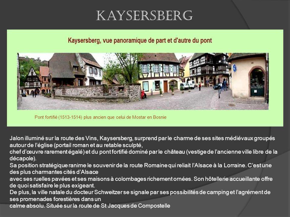 Riquewihr est un village d'Alsace, très réputé et visité pour son charme. Riquewihr jouit d'une grande célébrité, non seulement en Alsace et en France
