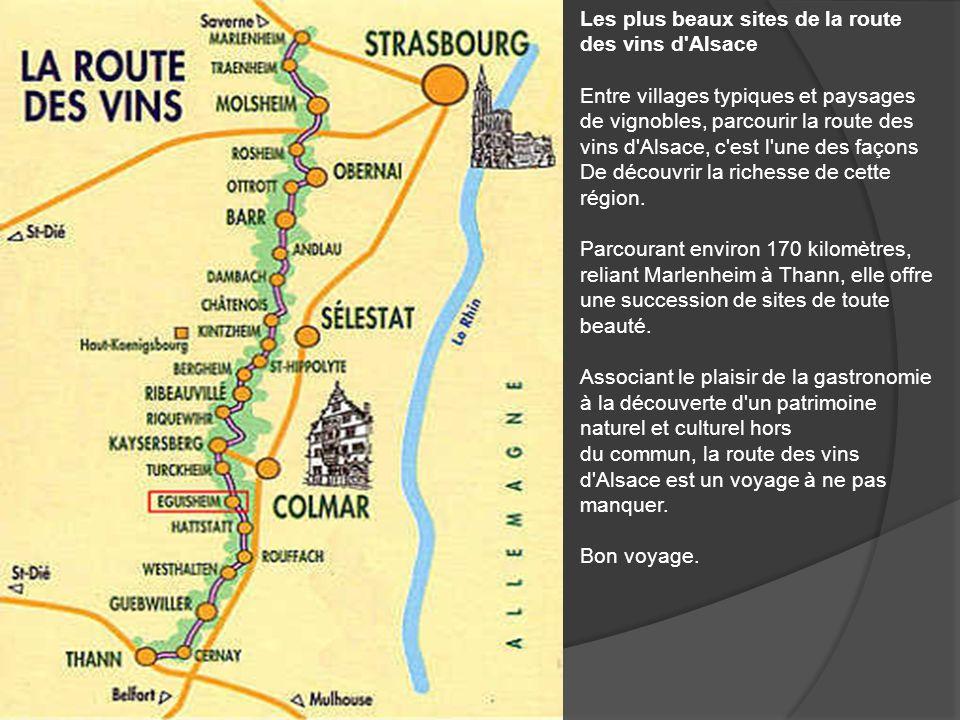 La route des vins dAlsace présentée par Dédé-Francis Novembre 2009 Avance au clique