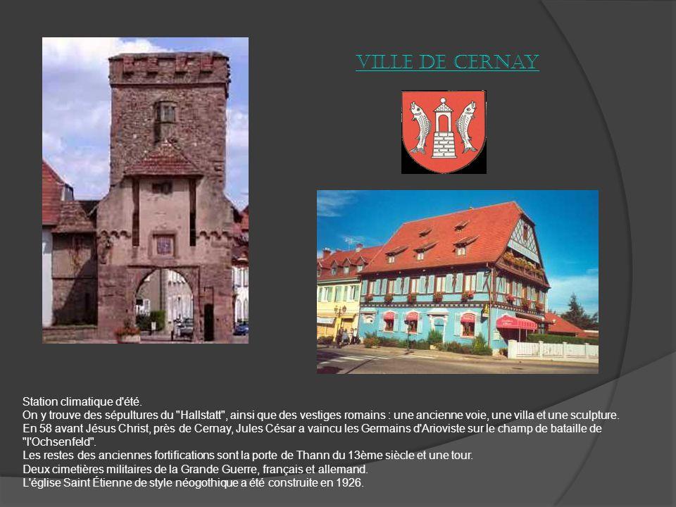 La ville de Guebwiller A lentrée du Florival (vallée des fleurs), Guebwiller, sallonge le long de la Lauch et épouse les contours de létroite vallée.