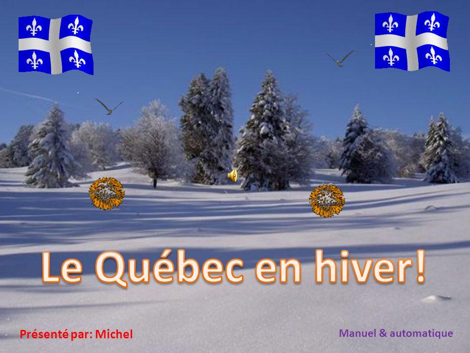 Le Vieux Québec durant une tempête