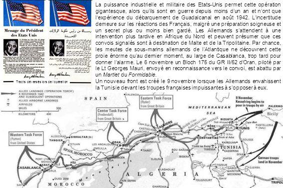 La puissance industrielle et militaire des Etats-Unis permet cette opération gigantesque, alors quils sont en guerre depuis moins dun an et nont que lexpérience du débarquement de Guadalcanal en août 1942.