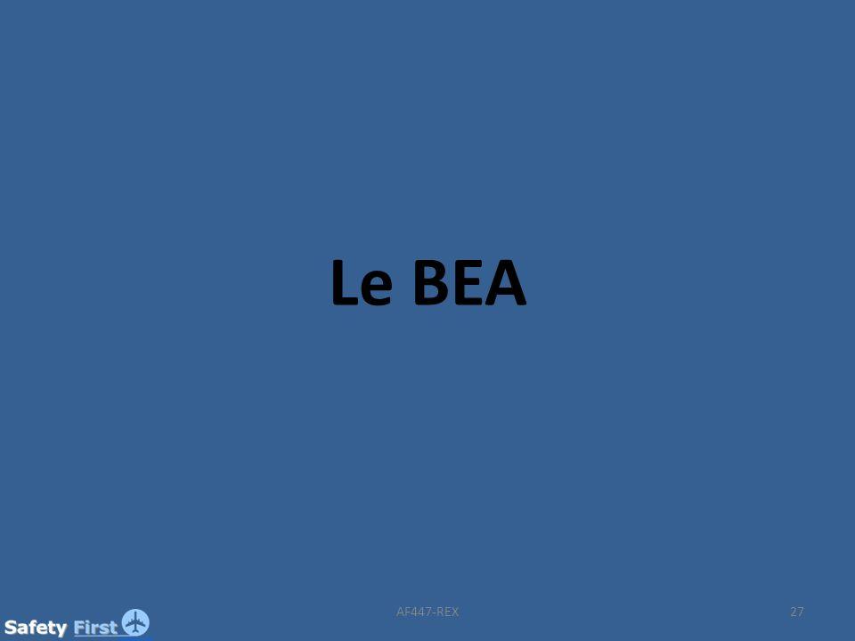 27 Le BEA AF447-REX