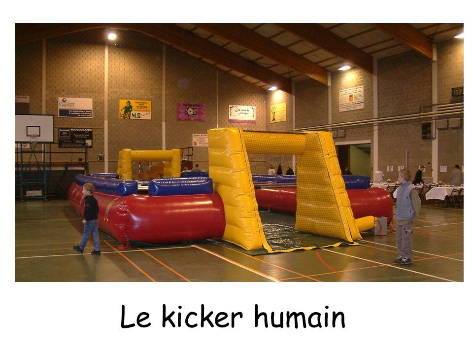 Le trampoline Les sumos Le ring de boxe Le bungee run