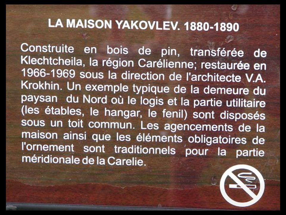 Décidémment je nai pas de chance, monsieur Yakovlev nest pas là non plus !