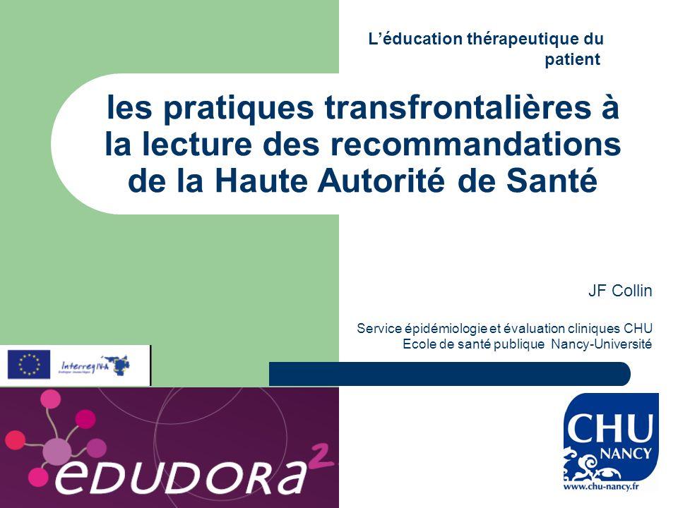2 HAS : guide méthodologique, recommandations 2007 1 guide