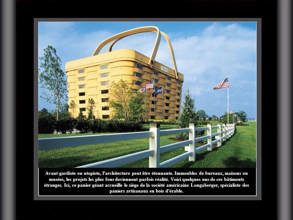 Avant-gardiste ou utopiste, l'architecture peut être étonnante. Immeubles de bureaux, maisons ou musées, les projets les plus fous deviennent parfois