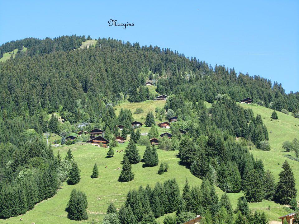 Val dIlliez est un village paisible à 950 m.
